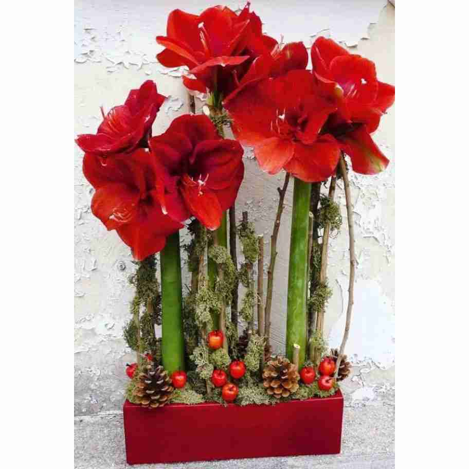 Home Decor With Flowers Coralee 39 S Florist Decor Red